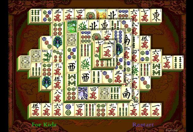 mahjongg con